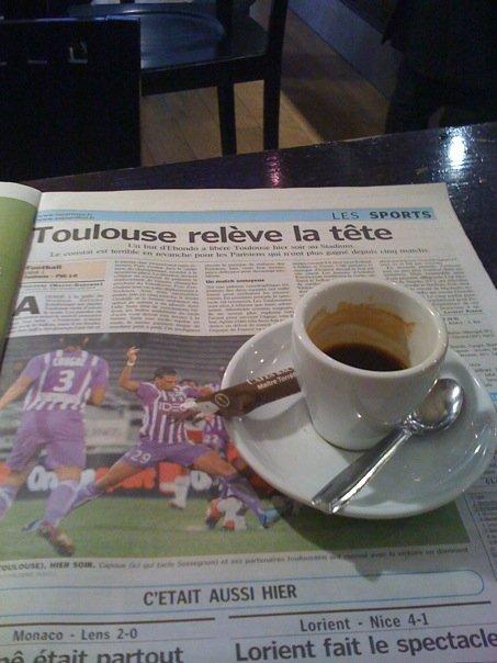 0ctobre 2009 - TFC et café du matin