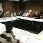 Février 2013 : réunion avec les militants des sections 6 et 15