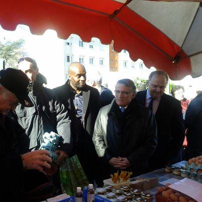 Février 2013 : Inauguration marché Louis Plana