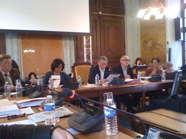Avril 2010 -  Le conseil municipal vient d'élire Gisèle Verniol comme nouvelle première adjointe de la Ville de Toulouse