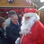 Décembre 2009 - Inauguration du marché de Noël