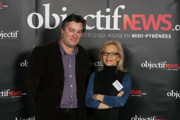 Décembre 2009 - avec Emmanuelle Durand-Rodriguez.au Grand Prix ObjectifNews