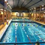 Décembre 2011 - Visite à la piscine Nakache pour rencontrer l'école de sport des Dauphins du TOEC