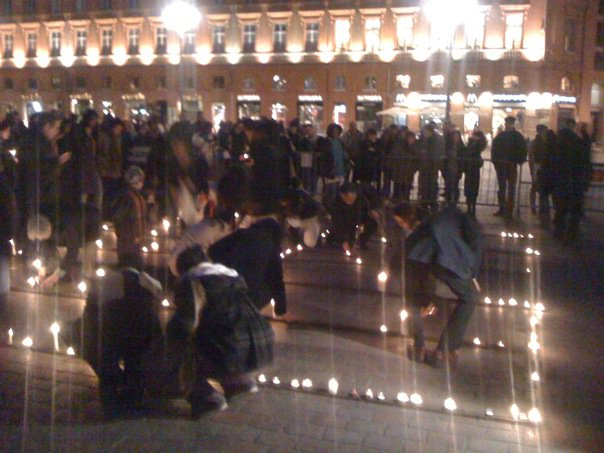 Janvier 2010 - Soildarité avec Haïti, place du Capitole