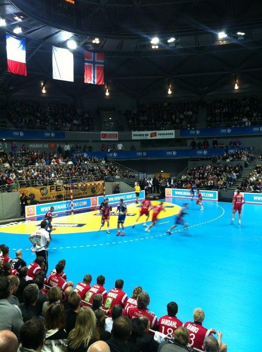 Janvier 2012 - France Norvège au Palais des Sports
