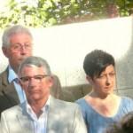Juillet 2008 : Cérémonie hommage à Jean Jaurès