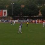 Juillet 2010 -  A Limoux, match de préparation entre le TFC et Montpellier