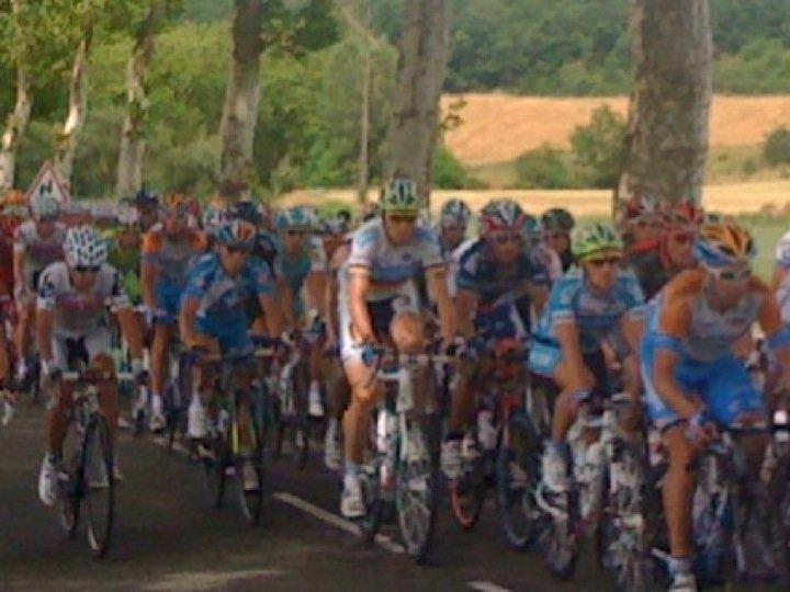 Juillet 2010 - Sur la route du Tour de France, quelque part avant Revel