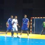 Juin 2010 - l'équipe de France de hand au Zénith contre l'Egypte