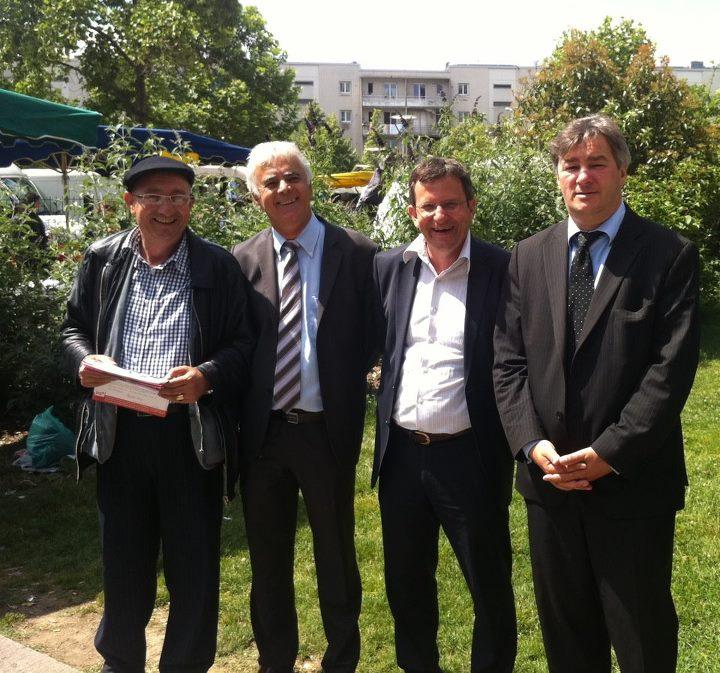 Juin 2012 - Fin de campagne pour Christophe Borgel à Bagatelle avec jean-Louis LLorca
