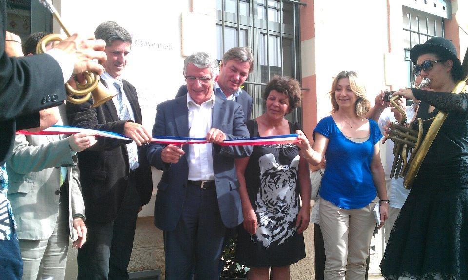 Juin 2012 - Inauguration de la Maison de la Citoyenneté à Niel