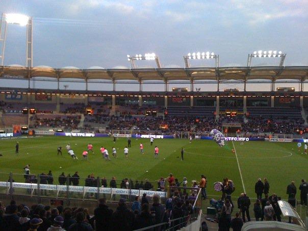 Mai 2010 -  fin de saison pour le TFC par une victoire contre Monaco