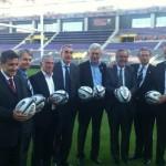 Mai 2012 - Annonce des demi-fianles au stadium