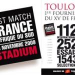 Novembre 2009 - France:Afrique du Sud