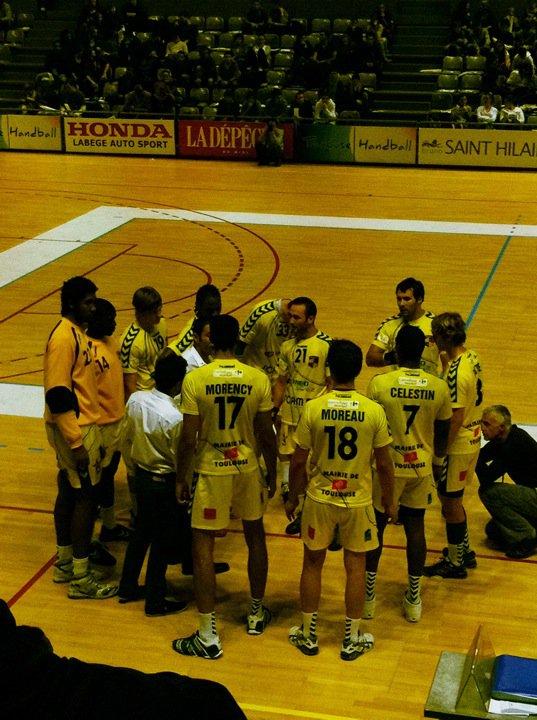 Novembre 2010 -  Toulouse : Istres au Palais des Sports
