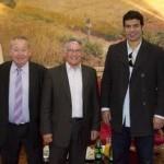 Octobre 2009 - Jimmy Algérino, Pierre Cohen, Rai et Just Fontaine