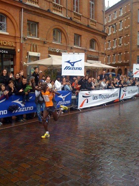 Octobre 2009 - Marathon du Grnd Toulouse Victoire de Benjamin Bitkop