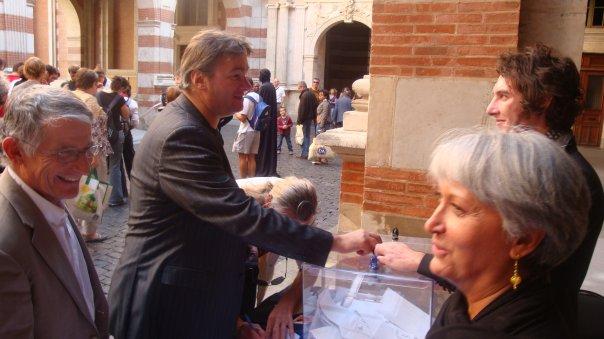 Octobre 2009 - Votation citoyenne cour Henry IV