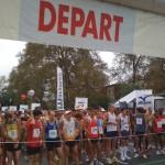 Octobre 2009 - départ du Marathon du Grand Toulouse