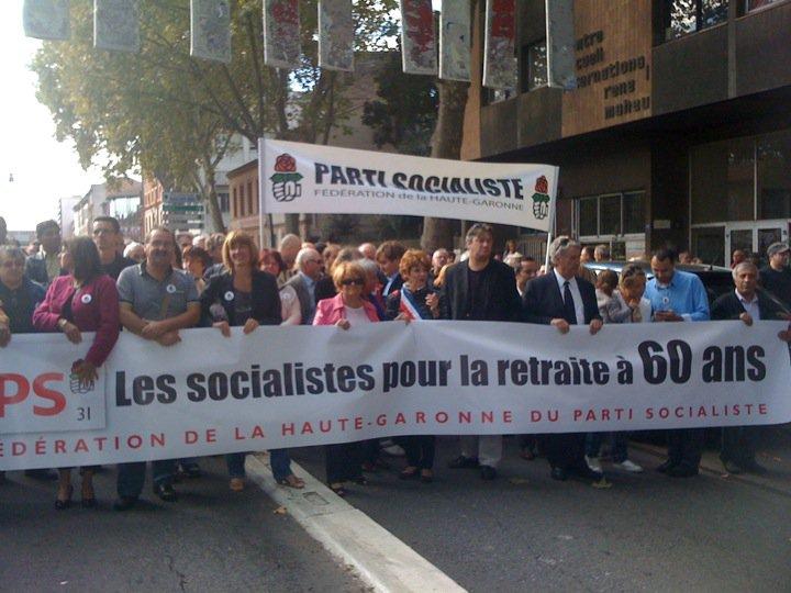 Octobre 2010 - Contre la réforme Sarkozy des retraites