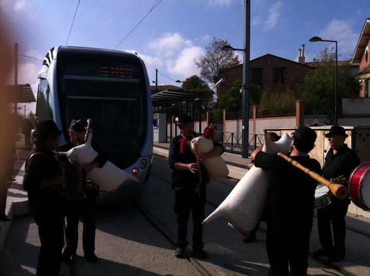 Octobre 2010 -   Fest'Arènes - pour fêter l'arrivée du Tram !