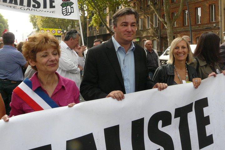 Septembre 2010 -  Contre la réforme Sarkozy des retraites